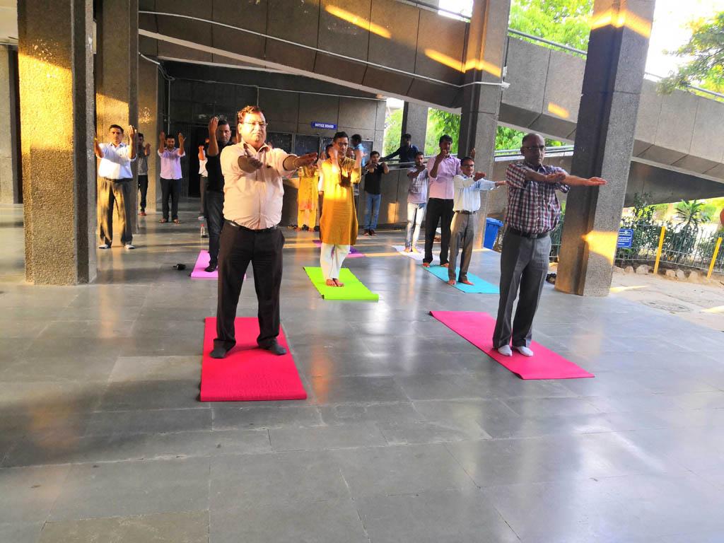 Celebration of International Day of Yoga on 21 June,2019